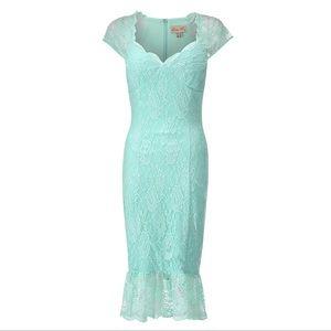 Lindy Bop Dresses - NWT Lindy Bop Vintage Inspired Wiggle Dress